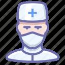 avatar, doctor, human, man icon
