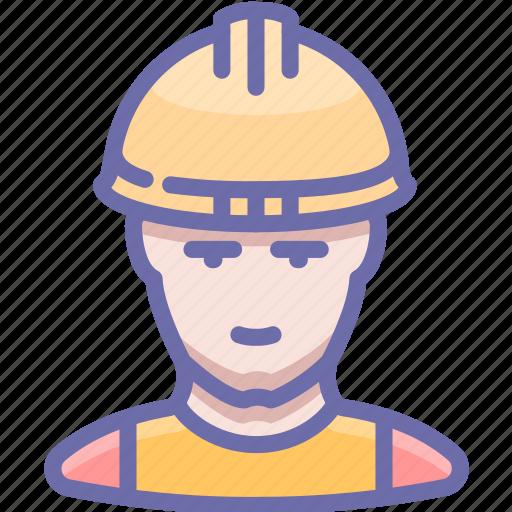 Builder, industrial, man, working icon - Download on Iconfinder