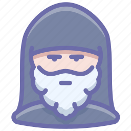 avatar, human, monk, priest icon