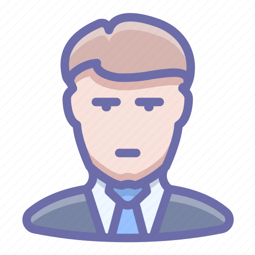 business, man, office icon