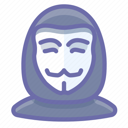 anonymous, hacker, person icon