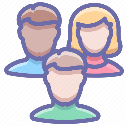 group, people, team icon