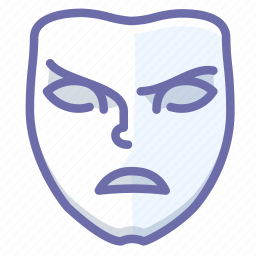 angry, emotion, face icon