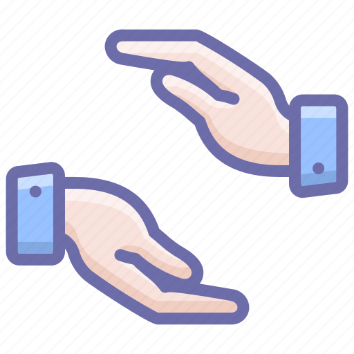 care, caring, hands icon