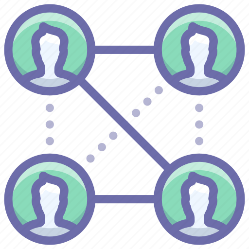 Connections, friends, social icon - Download on Iconfinder