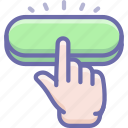 click, finger, gesture icon