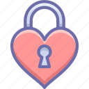 lock, love, private icon