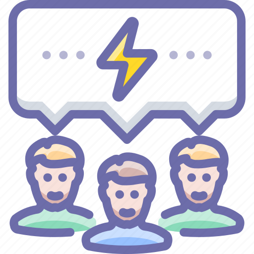 brainstorm, communication, talk icon