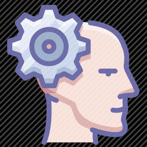 head, mental, mind icon