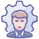 business, employee, process icon
