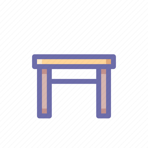 stool, tabouret icon