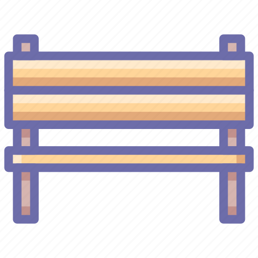 bench, furniture icon