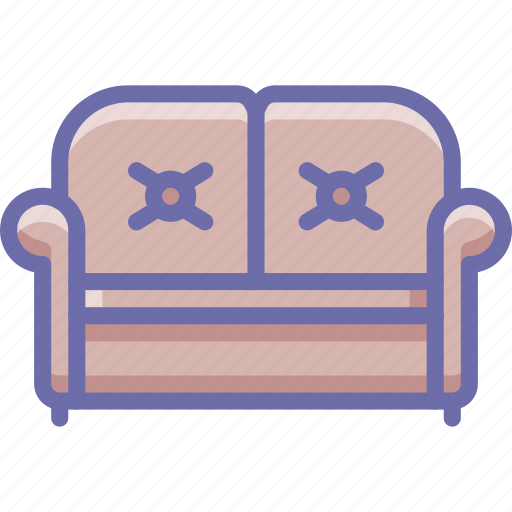 couch, sofa icon