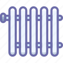 heating, radiator icon