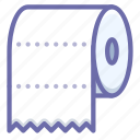 paper, toilet, towel icon