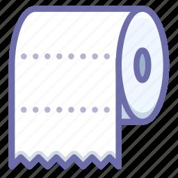 paper, toilet, towel icon