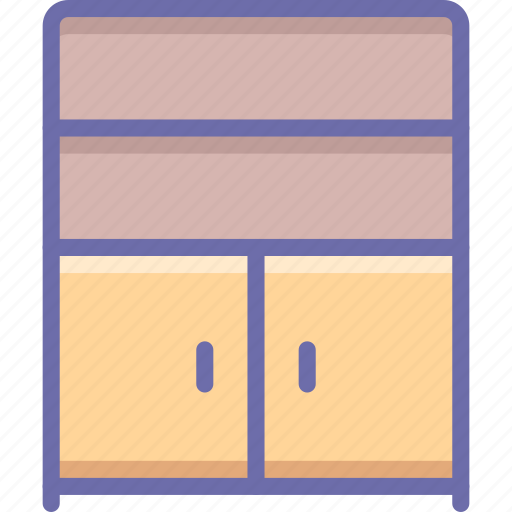 cabinet, cupboard, furniture icon