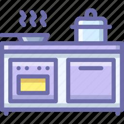 cooker, interior, kitchen icon