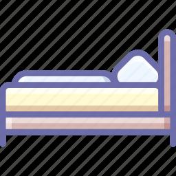 bed, room, single icon
