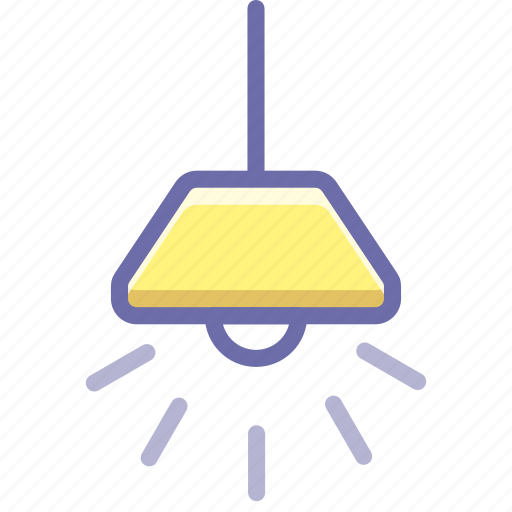 chandelier, lamp, light icon