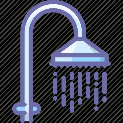 bath, shower icon