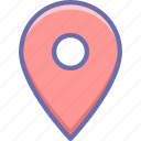gps, location, pin
