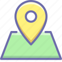 location, marker, pin icon