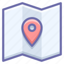 location, map, pin