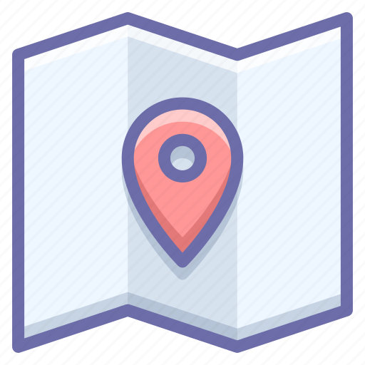 location, map, pin icon