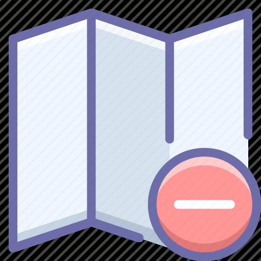 Delete, map icon - Download on Iconfinder on Iconfinder