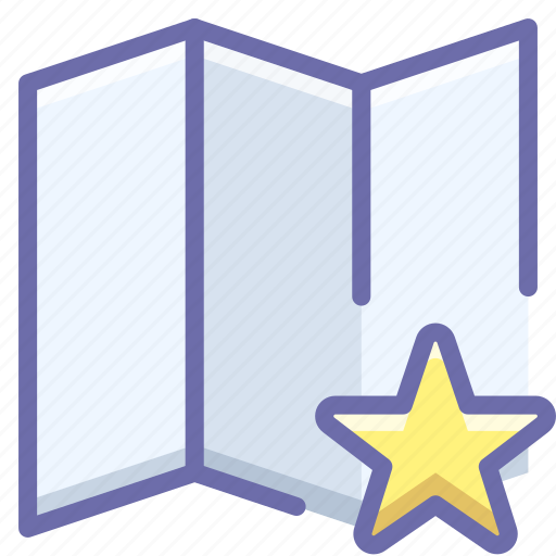 Map, place, star icon - Download on Iconfinder on Iconfinder