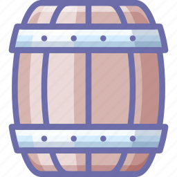 barrel, beer icon