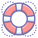 help, lifebuoy icon