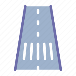 road, route, transport icon