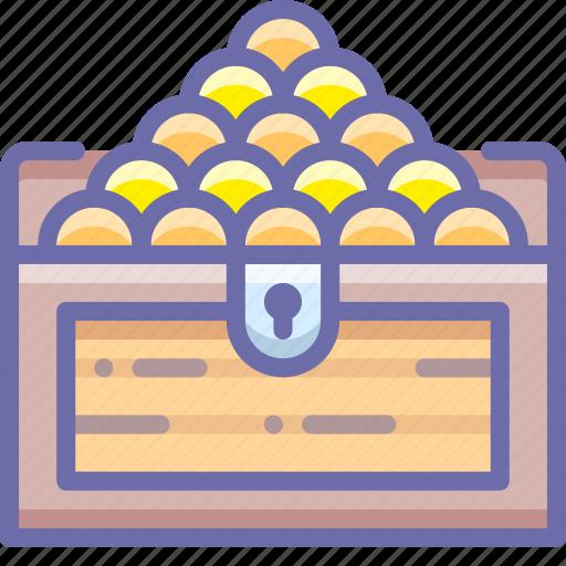 chest, money, treasure icon
