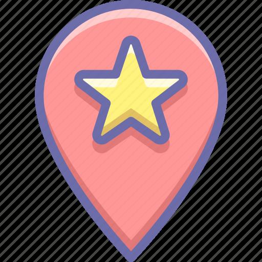 Geo, location, star icon - Download on Iconfinder