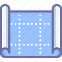 blueprint, drawing, scheme icon