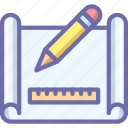 create, drawing, scheme icon