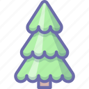 fir, tree, xmas icon
