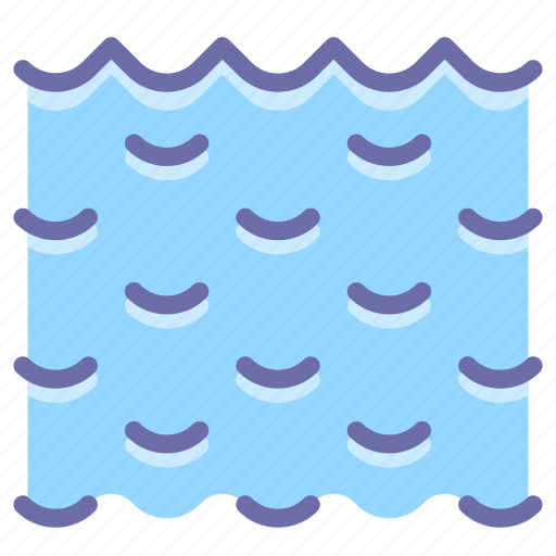 sea, water, waves icon