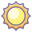 ecology, light, nature, shine, sun, sunset icon