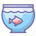 aquarium, fish icon