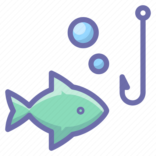 Fish, fishing, hook icon - Download on Iconfinder