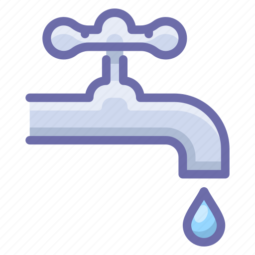 faucet, pipe, water icon