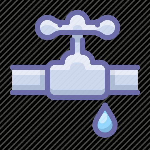 burst, pipe, valve icon