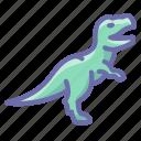 animal, dinosaur, predator, rex, t, tyrannosaur icon