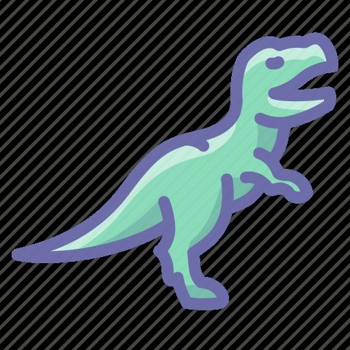 dinosaur, rex icon