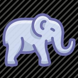 bishop, elephant icon