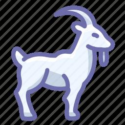 goat, horns icon