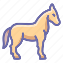 farm, horse icon